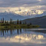 Lago Wonder, Parque Nacional Denali en Alaska. ©BBC