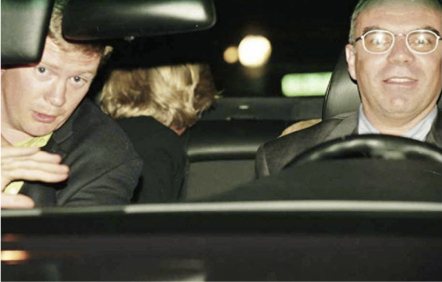 Dodi Al Fayed y Diana de Gales