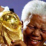 Mandela con la copa del mundo.