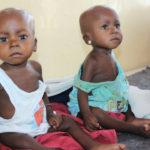 Niños en el hospital Yola. ©BBC 2015