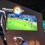 Tecnología Hisense presente en Rusia 2018