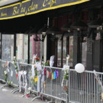 The front of the Bataclan Cafe in Paris. ©BBC
