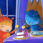 Joa y Jack celebrando