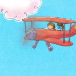 Joe y Jack volando