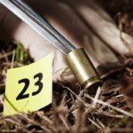 Bala en la escena del crimen ©Shutterstock
