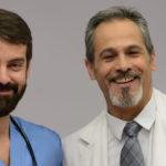 Dr. Herranz y Dr. Javier Blanco felices. ©RTVE