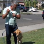 Cesar corrigiendo perro. Cortesía - NGC/ITV Studios Ltd