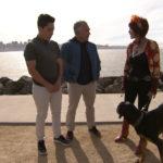 Cesar y Andre se encuentran con el salvador de perros Pali. ©Leepson Bounds