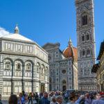 Baptisterio de San Juan, plaza del Duomo, Florencia. ©Pixabay