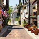 Calle Avilés, la más antigua de Estados Unidos. ©Pixabay
