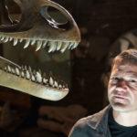 Steve Backshall is on a mission to build Backshallosaurus. ©BBC