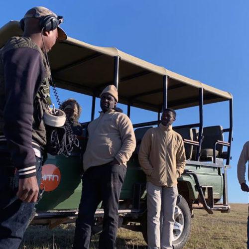 Reserva Kwantu - sede de grabación de Mundo Salvaje, segunda temporada con Ron Magill
