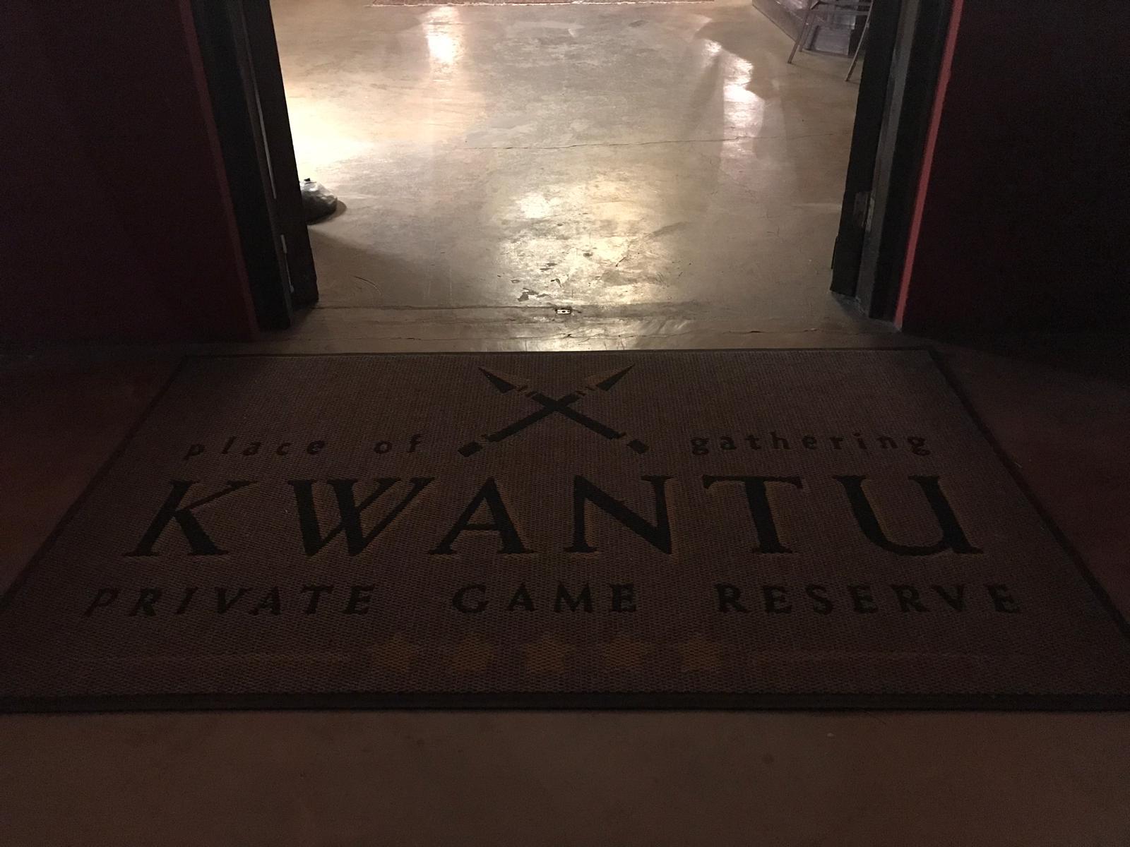 Bienvenidos a la reserva Kwantu