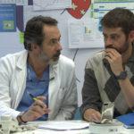 Dr. Landó y Dr. Herranz conversando