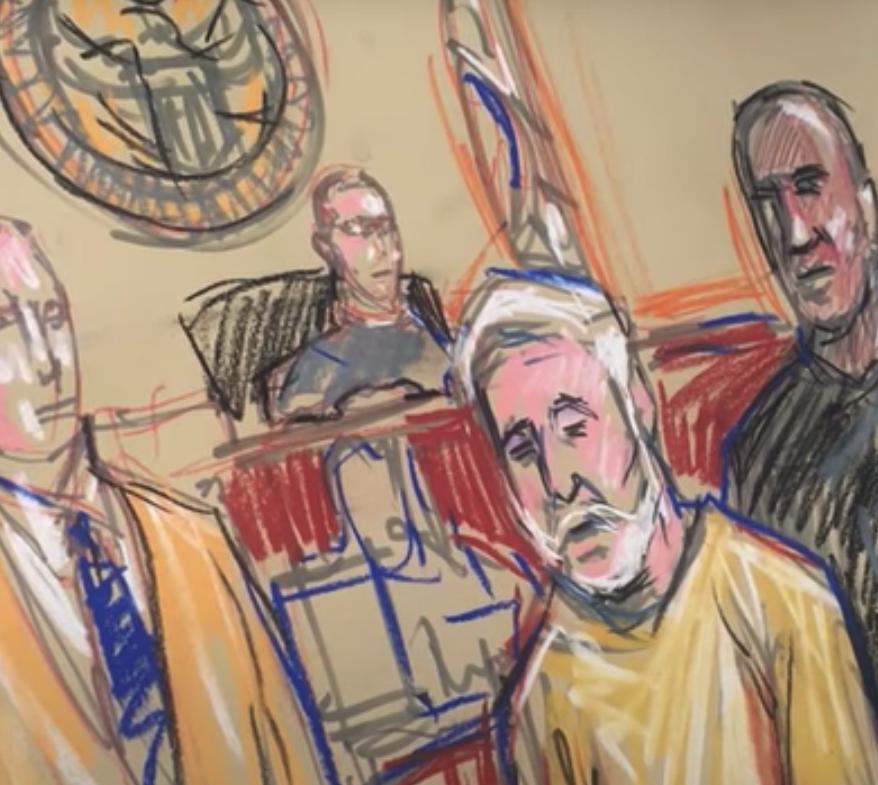caricaturista de la corte
