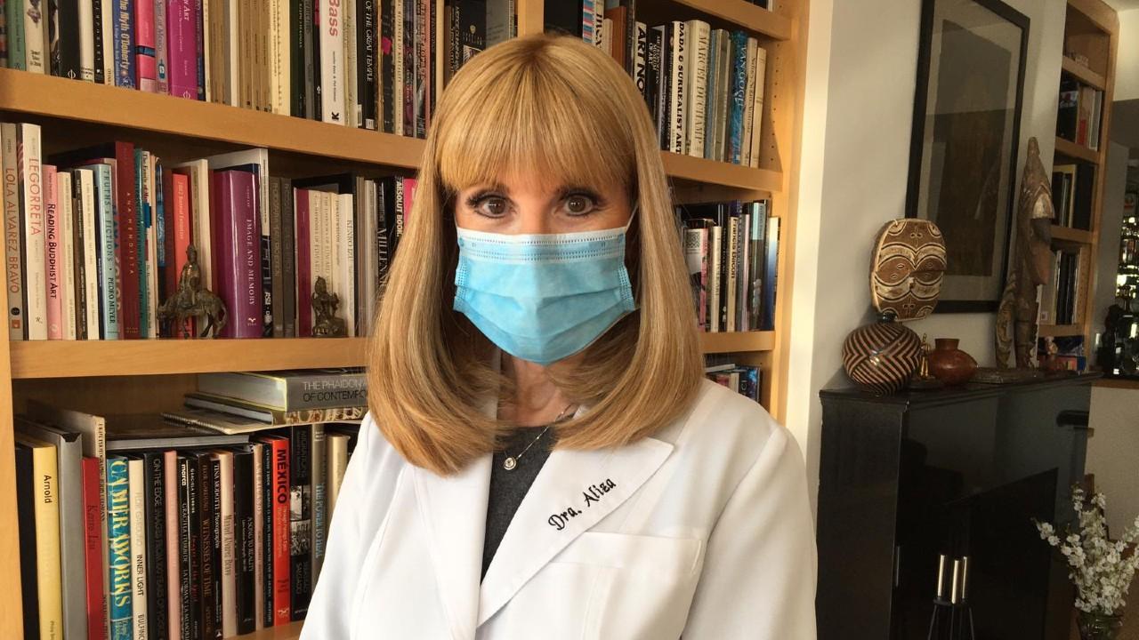 Dra. Aliza: ¿cómo utilizar la mascarilla?