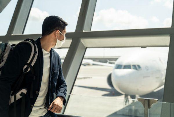 Medidas de prevención en aeropuertos