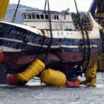 Rescatando barco