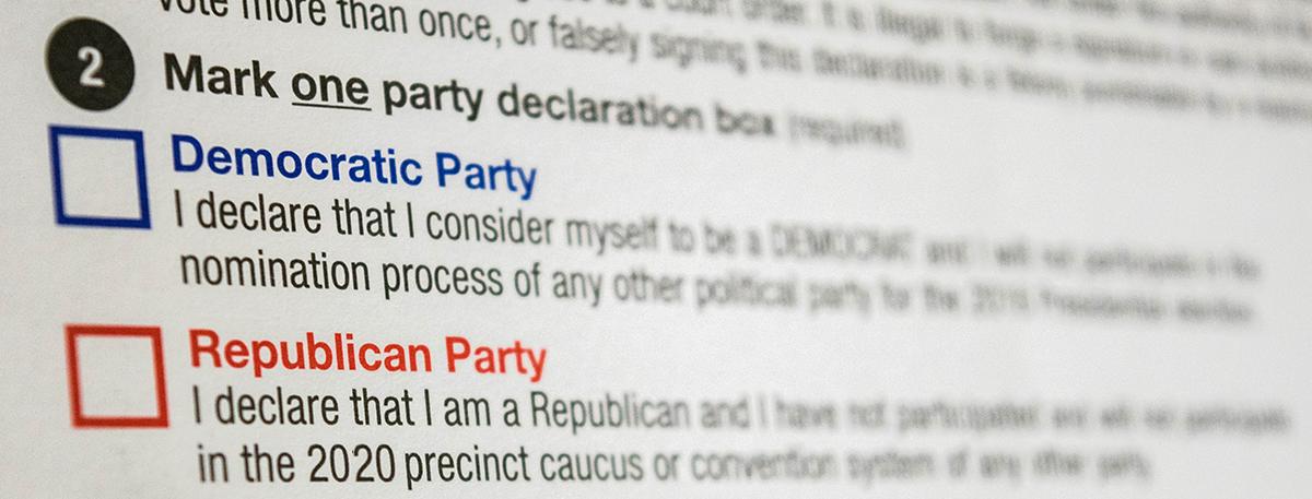 ¿Debes votar por el partido que elegiste en el registro para votar?