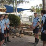 Aaron y los estudiantes