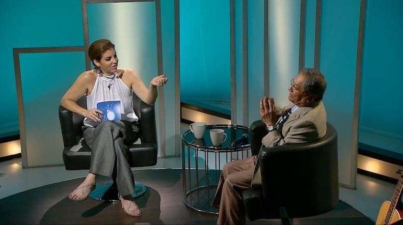 Leila Cono entrevista al maestro Manzanero