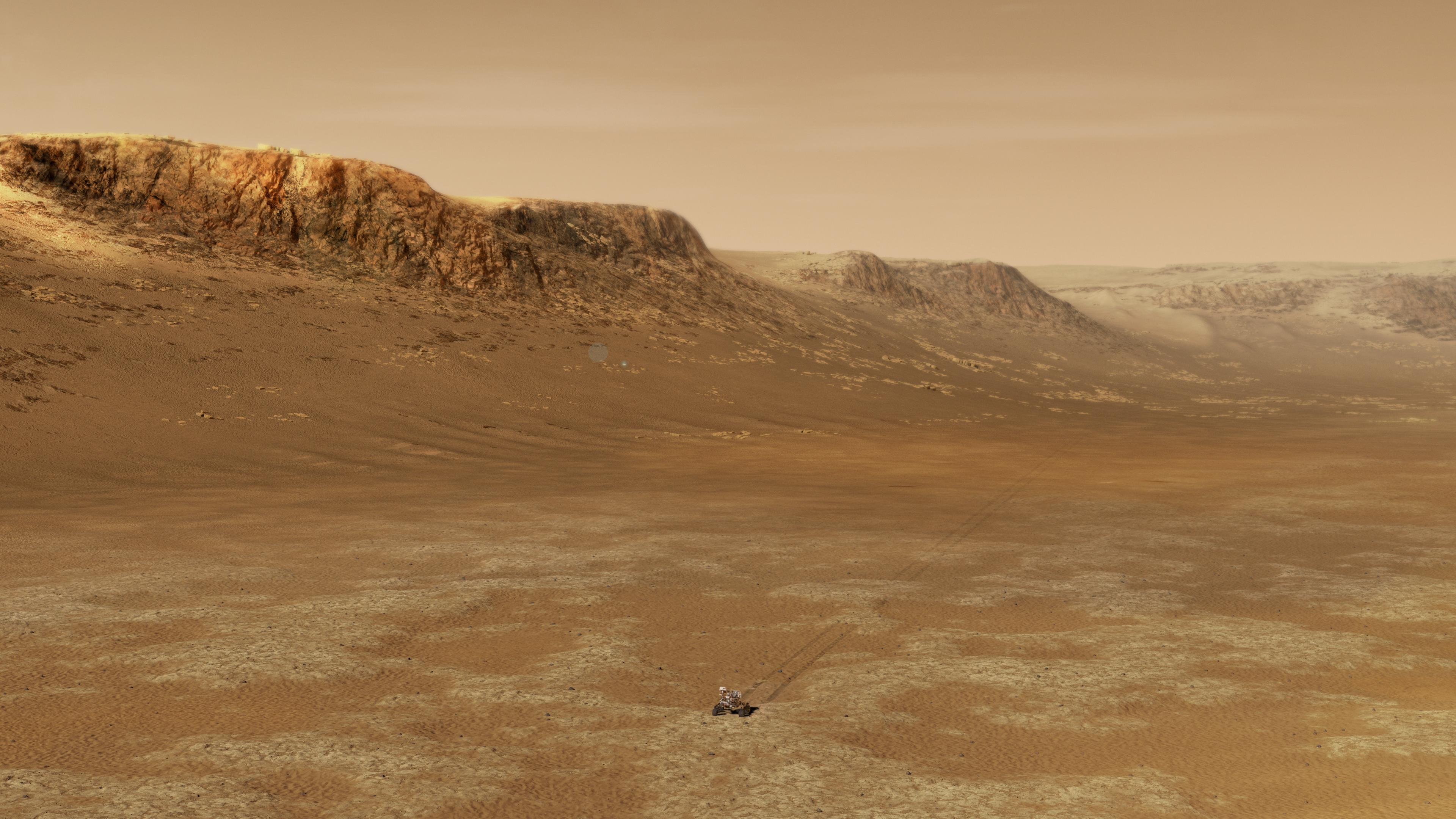 22 días para que el rover Perseverance llegue a Marte