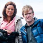 Mark Robinson y Jaclyn Whittal