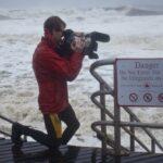 Mark en el huracán Sandy